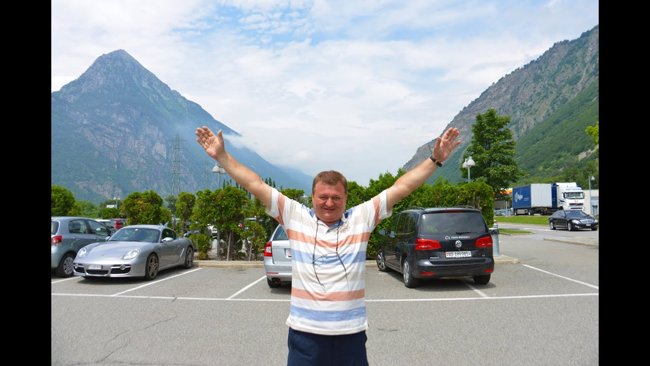 ALPES. FROM MORGES (SWISS) TO MONACO (MONTE CARLO).