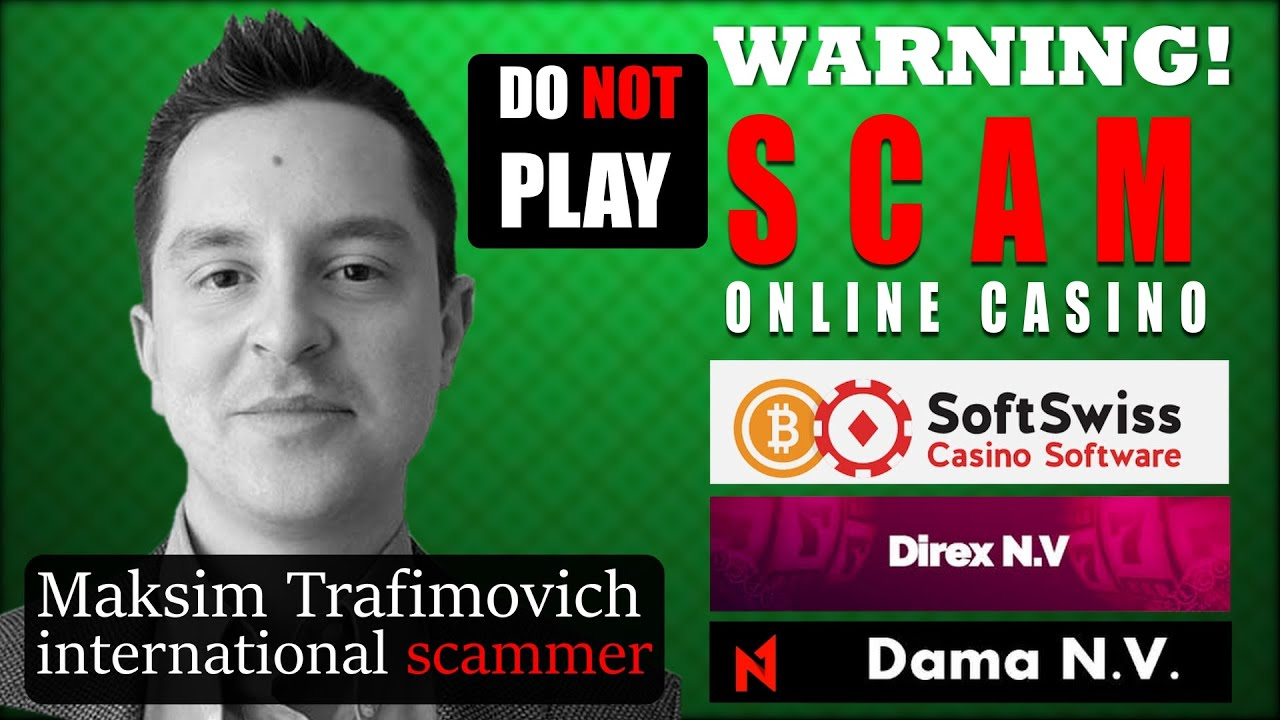 Maksim Trafimovich good known crook from Belarussia. Works in Direx N.V, SoftSwiss and Dama N.V.