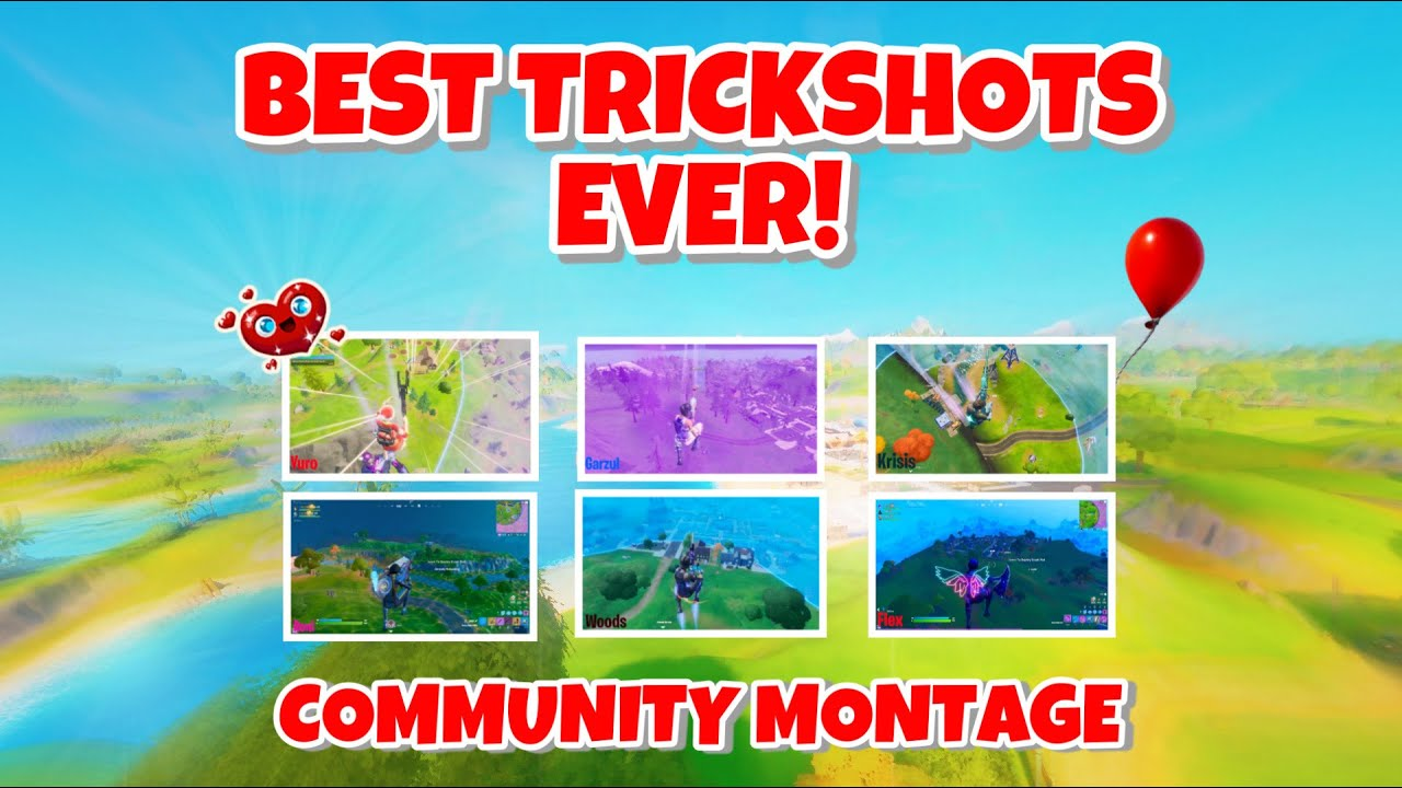 These Are The Best Fortnite Trickshots Ever Hit!  - Community Montage