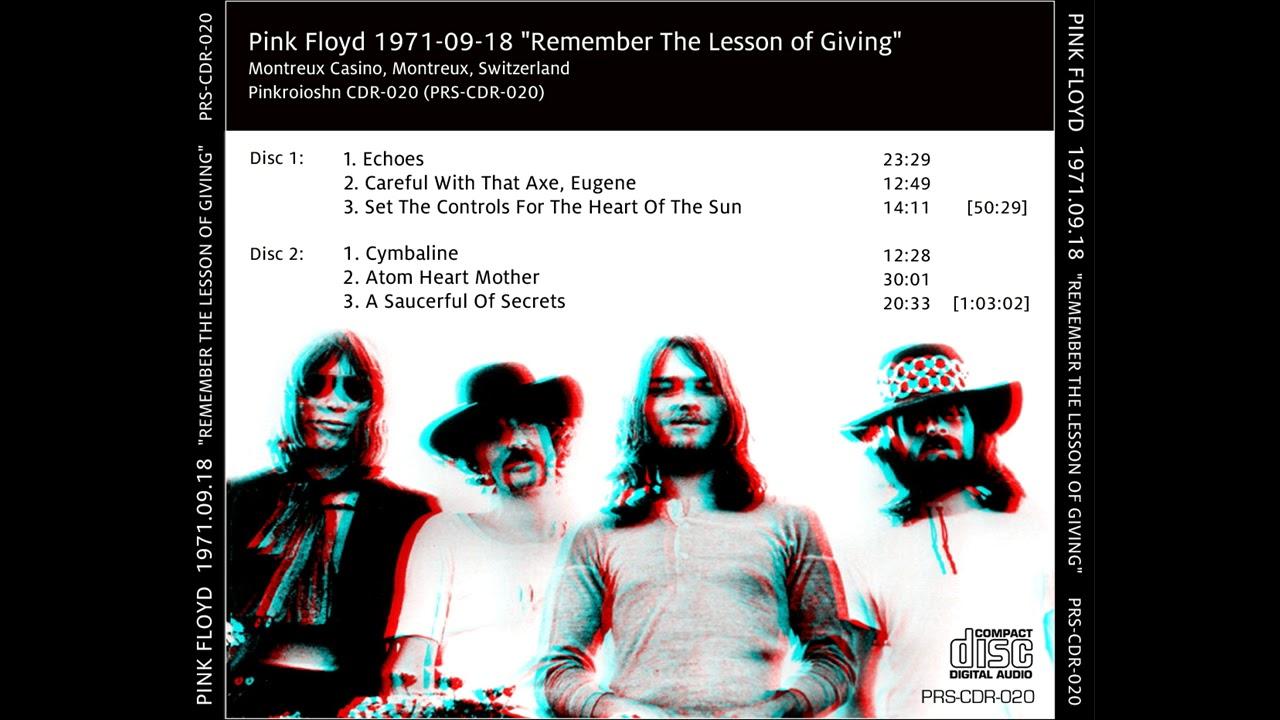 PINK FLOYD 18th September 1971 Montreux Casino Montreux, Switzerland   #PabloFlaming  #PabloFlaming2