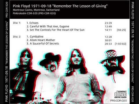 Pink Floyd 1971-09-18 Montreux ,Casino ,Montreux, Switzerland